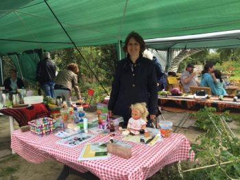 Open Dag biologische buurtmoestuin Nieuw-Vennep
